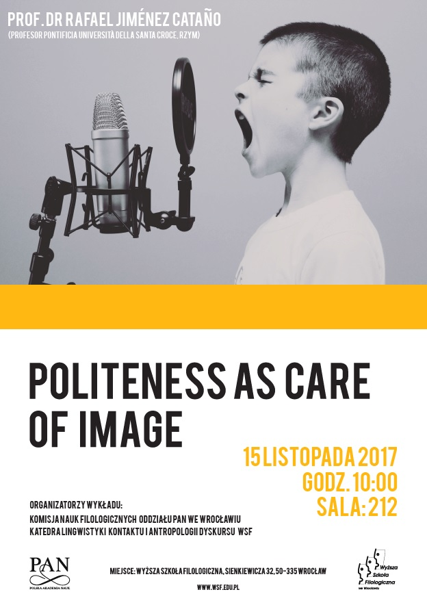 Politeness As Care Of Image